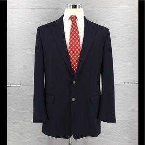Hickey Freeman Madison Two Button Up Blazer Sz 44L